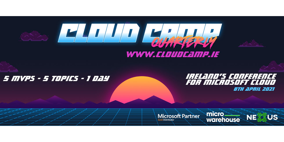Book now for our exciting Cloud Camp Quarterly event